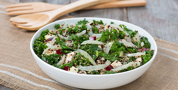 High Protein Onion and Quinoa Salad