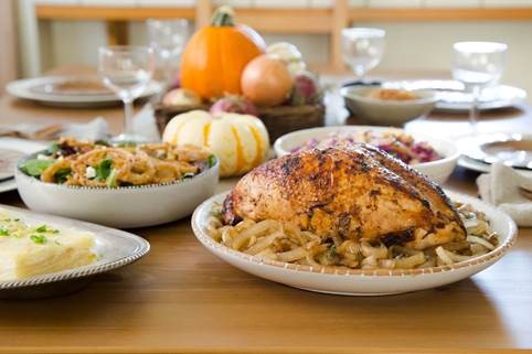 Adding onions keeps Thanksgiving meals healthy