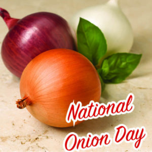 Today is National Onion Day June 27