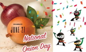 June 27 National Onion Day